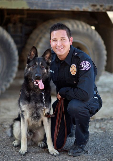 K9 Program City of Ventura, California - Officer Eric Jackson - canine security officer sample resume