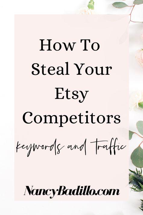 Etsy Competitors