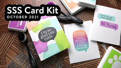 3 Clean and Simple Cards with Simon's October 2021 Card Kit – kwernerdesign blog