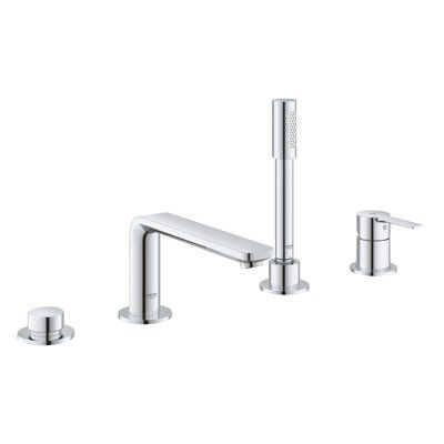 Grohe Lineare Double Handle Deck Mounted Roman Tub Faucet With