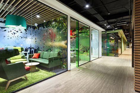 Sberbank Activity Based Working Evolution Design Colorful Office Design Office Design Office Space Inspiration