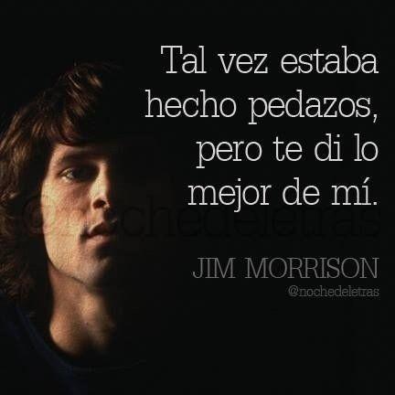 14 Frases De Jim Morrison No 14 Verdades De La Vida