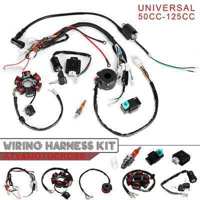 Ebay Advertisement 5 Pin Ignition System Set Component Quad Cluster Switch Cdi Kit Electrical 50cc Atv Atv Quads