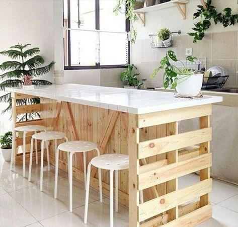 34++ Fabriquer un ilot de cuisine en bois ideas