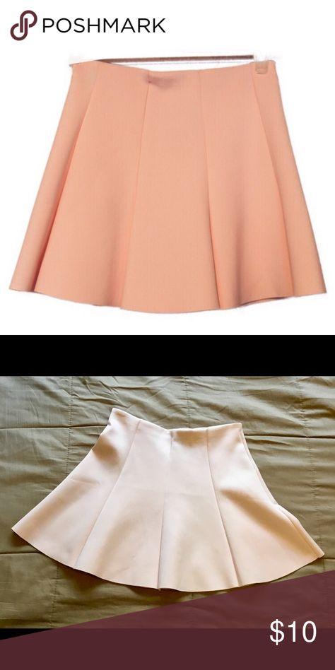 """7859945c7 Dusty Rose Skirt It's a Forever 21 Dusty Rose mini skirt. It's 94%  Polyester and 6% spandex/elastase Waist is 13"""" 1/2 Length is 15"""" 1/2 Forever  21 Skirts ..."""