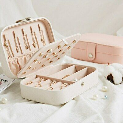 Details About Multi Functional Jewelry Box Organizer Display Jewelry Storage Case Rings Xn In 2020 Travel Jewelry Box Jewelry Organizer Box Leather Jewelry Box