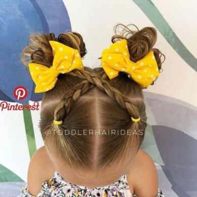Cute Kids Hairstyles For School Easy Back To School Between Making Breakfast A . - Cute Kids Hairstyles For School Easy Back To School Between Making Breakfast A for sch - Kids School Hairstyles, Easy Toddler Hairstyles, Easy Little Girl Hairstyles, Cute Hairstyles For Kids, Cute Girls Hairstyles, Hairstyle For Baby Girl, 1950s Hairstyles, Braided Hairstyles, American Hairstyles