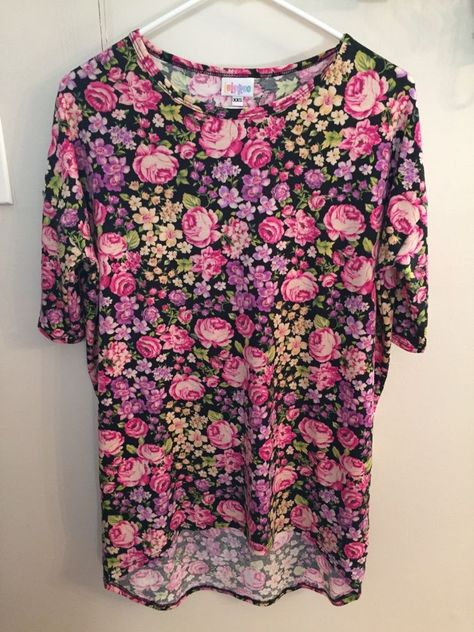 8d62a8a6d XXS lularoe Irma floral pattern rare unicorn! #Lularoe #Blouse ...