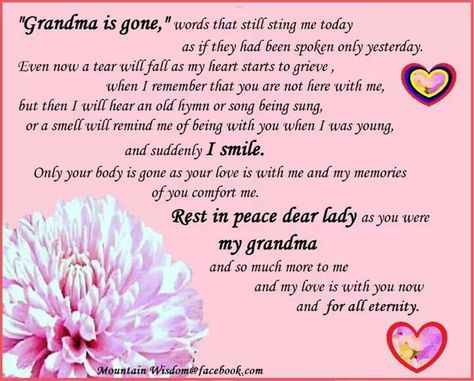 List Of Pinterest Rest In Peace Grandma Quotes I Miss You Images