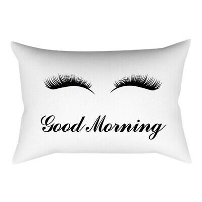 Decorative Eyelash Pillow Case Fashion Home Garden Homedcor Pillows Ebay Link Velvet Cushions Throw Pillow Case Covers Soft Throw Pillows