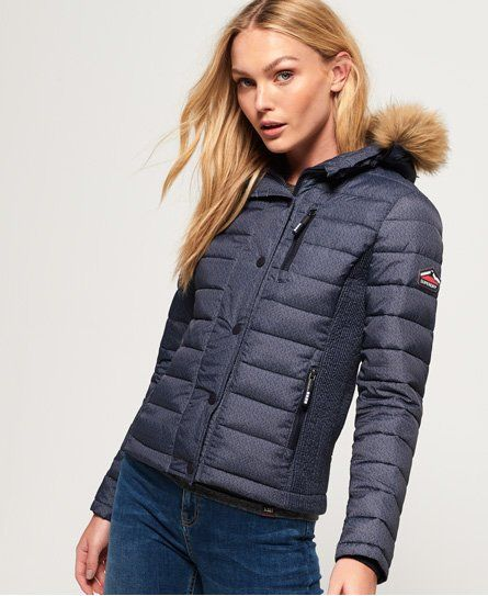 Fuji Slim Double Zip Hooded Jacket #Superdry #Fashion