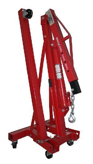 Floor Crane With Manual Hydraulic Jack Hydraulic Jack Engine Crane Hydraulic Ram Hydraulic Flooring