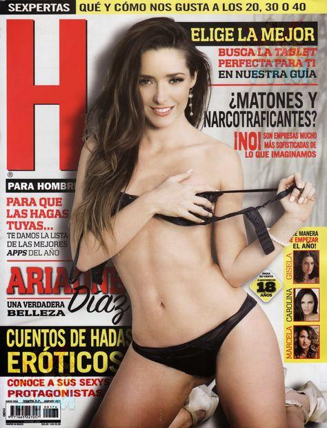 Ariadne Diaz Revista H Enero 2014 [Scans HQ] | FamosasMex