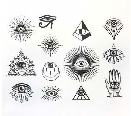 37 Ideas Eye Drawing Evil In 2020 Third Eye Tattoos Evil Eye Tattoo Illuminati Eye Tattoo