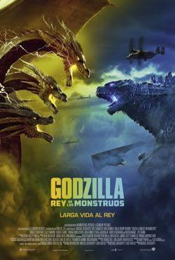 Godzilla Ii Rey De Los Monstruos 2019 Cine Poster Ver Peliculas Gratis Online Godzilla Ver Peliculas Gratis