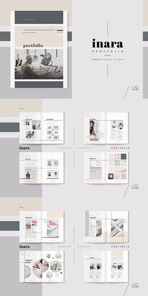 Inara Portfolio Template Portfolio Design Portfolio