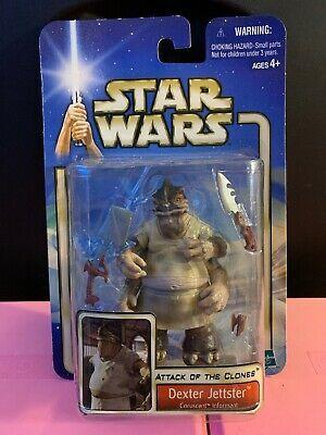 Dexter Jettster Star Wars Aotc Action Figure Hasbro 2001 Moc Nib Ebay Action Figures Collectible Toys Action Figures Star Wars Episode Ii