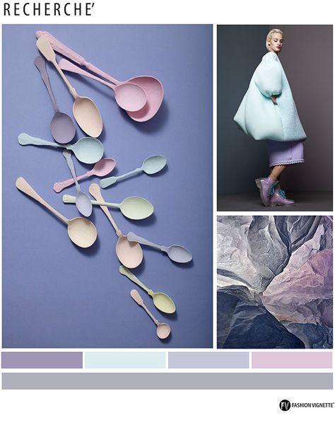Color Trend F/W 2016/17-RECHERCHE-Fashion Vignette for Eclectic Trends