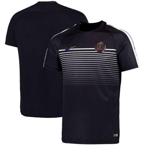 disfrute del envío de cortesía bastante agradable envío directo Paris Saint-Germain Nike Squad Performance T-Shirt - Black   Paris ...