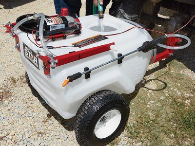 NorthStar Tow-Behind Trailer Boom Broadcast and Spot Sprayer