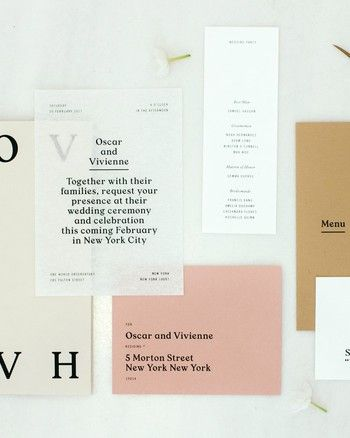 30 Modern Wedding Invitations We Love Modern Wedding Invitations