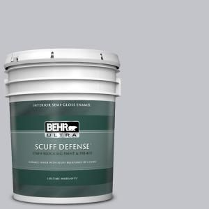 Behr Ultra 5 Gal N540 2 Glitter Color Extra Durable Semi Gloss Enamel Interior Paint Primer 375005 The Home Depot In 2021 Behr Ultra Interior Paint Durable Paint