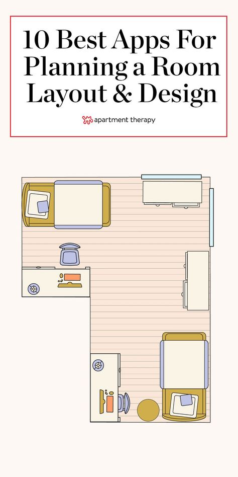 The 10 Best Apps For Planning a Room Layout and Design What a time to be alive (and planning room layouts)! Thanks to a treasure trove of user-friendly apps, it's never been easier to create floor plans and virtually design our rooms. Room Layout App, Room Layout Design, Room Layout Planner, Layout Book, Floor Plan App, Floor Plan Layout, Floor Plans, Interior House Colors, Interior Design Tips