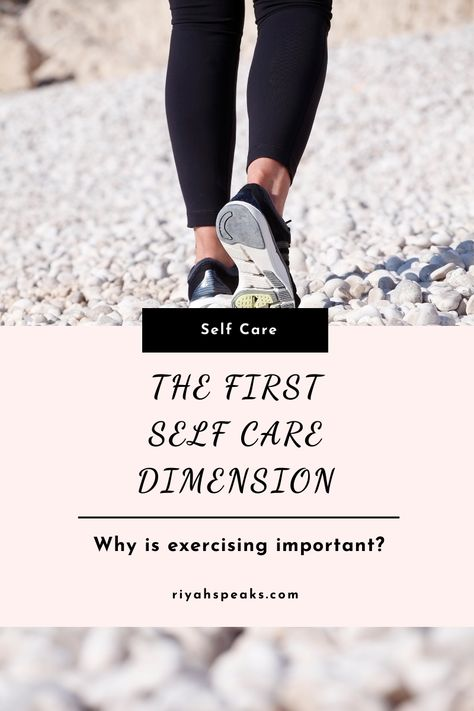 Did you know that getting regular exercise is good for your health? Learn more about the physical self care dimensions in this post #Exercise #Fitness #FitnessMotivation #FitnessQuotes #FitnessLifestyle #Health #Healthy #HealthyLifestyle #HealthyLiving #HealthyTips #HealthTips #Wellness #WellnessTips #WellnessJourney #HealthQuotes #HealthyEating