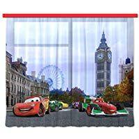 Gardine Vorhang Fcs Xxl 7000 Disney Cars 280 X 245 Cm 2 Teilig