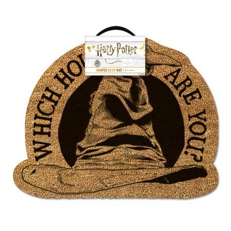 Harry Potter Shaped Doormat Floor Mat The Sorting Hat Which House Are You Size 20 X 16 Walmart Com Harry Potter Sorting Hat Harry Potter Door Mat Sorting Hat