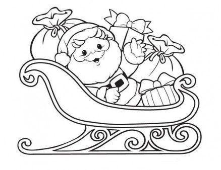 Noel Baba Boyama Sayfalari Noel Baba Cizim Egitimleri