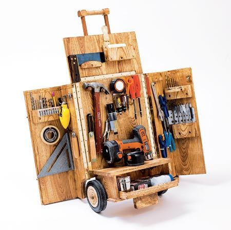 Mobile work cart. So cool!!