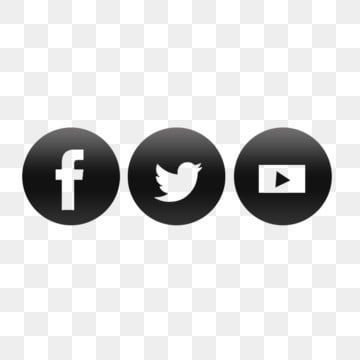 Social Media Icon Facebook Youtube Twitter Facebook Icons Youtube Icons Twitter Icons Png Transparent Clipart Image And Psd File For Free Download Social Media Icons Transparent Social Media Icons Media Icon