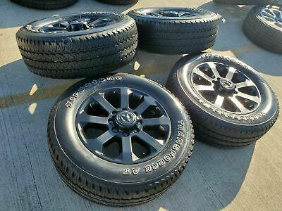 20 Dodge Ram 2500 3500 2020 Black Long Horn Wheels Rims Tires Oem 2019 Oe New Dodge Ram 2500 Ram 2500 Dodge Ram