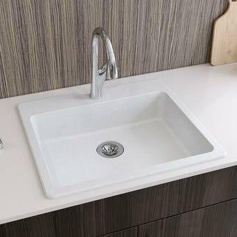 Quartz Classic 33 L X 22 W Double Basin Undermount Kitchen Sink