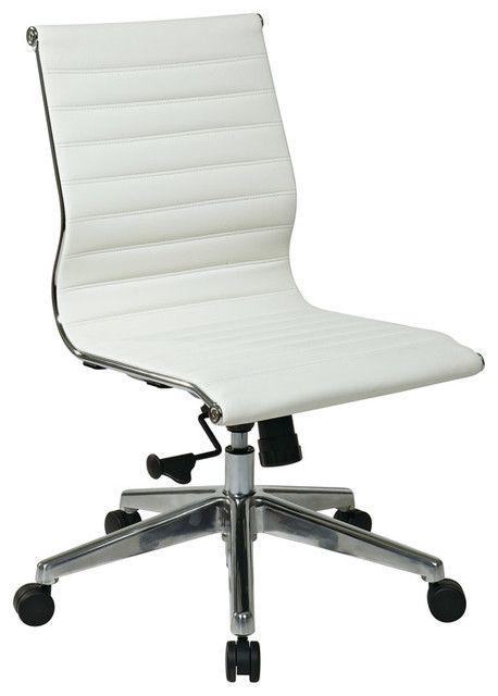 Weisse Moderne Buro Stuhl Moderne Stuhle Moderne Stuhle Burostuhl Ergonomisch Moderne Burostuhle