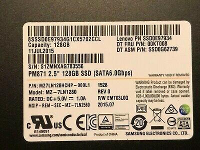 Ebay Link Ad Samsung 128gb 2 5 Sata Laptop Ssd Drive Mz 7ln1280 Mz7ln128hchp 000l1 Lot Of 10 Ssd Driving Samsung
