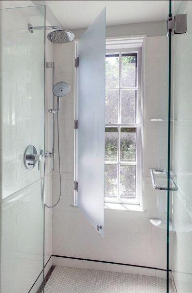 Top 70 Best Shower Window Ideas Bathroom Natural Light Window In Shower Bathroom Makeover Bathroom Windows