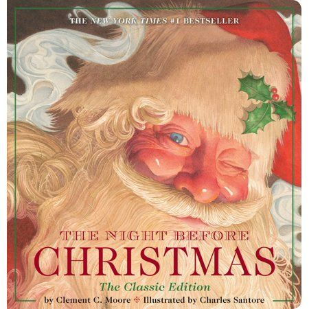 New York Times Best Books For Children 2020 Christmas Night Before Christmas The Classic Editi (Board Book)   Walmart