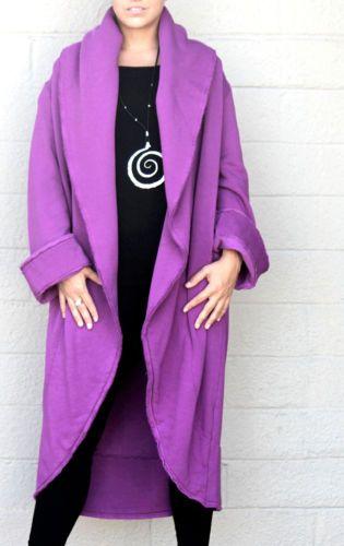 Bryn Walker - Ultra Bamboo/Organic Cotton Fleece Two Pocket Long ...