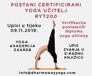 Yoga Akademije Zagrem Yoga Sensa