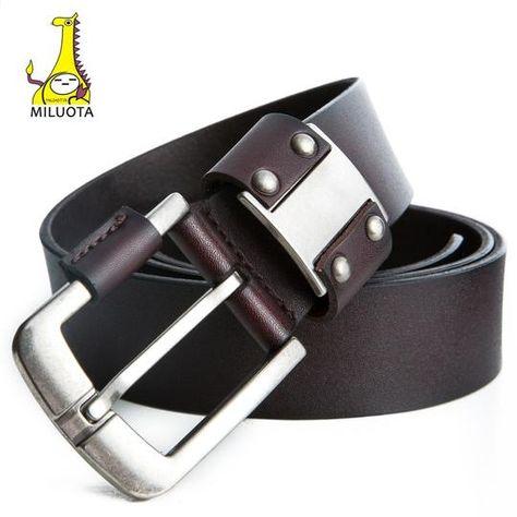4f4334dd 4 styles Double loop fastener men metl buckle thickening canvas belt ...