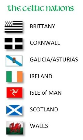 Celtic Nations Flags Google Search In 2020 Celtic Nations Celtic Asturias