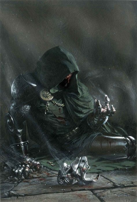 Dr  Doom by Gabriele Dell'Otto