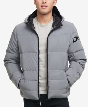 0f4c6ee56 Men's Hooded Puffer Jacket, Created for Macy's | Products | Puffer ...
