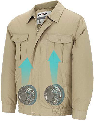 Amazing Offer On Dewbu Workwear Equipped Cooling Jacket Fan