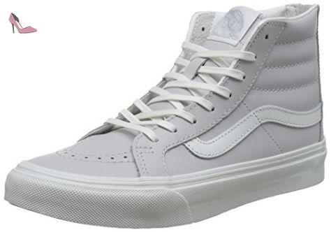 chaussures vans femme grises