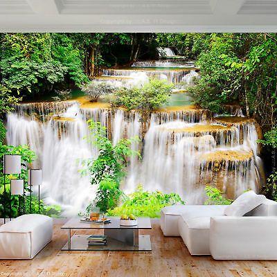 Vlies Fototapete Blumen Lilien Weiss 3d Effekt Tapete Wandbilder Xxl Wohnzimmer 7 Eur 8 99 Picclick De Fototapete Wandtapete Wasserfall Tapete