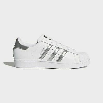 Adidas Superstar Classic White Metallic Hologram Iridescent