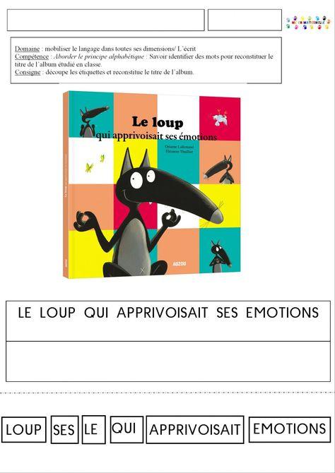 Sehr 493 best thème du loup images on Pinterest | Montessori  ZB67